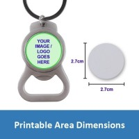 bottle opener photo key chain