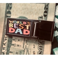 custom photo money clip