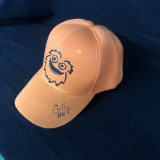 Gritty flyers hockey mascot BASEBALL HAT with bonus screen printed autograph on bill