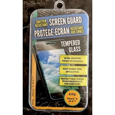 Shatter resistant screen guard