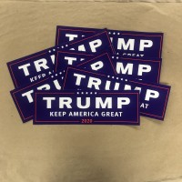 TRUMP keep america great 2020 bumper sticker