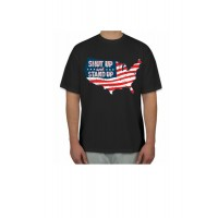 shut up and stand t shirt