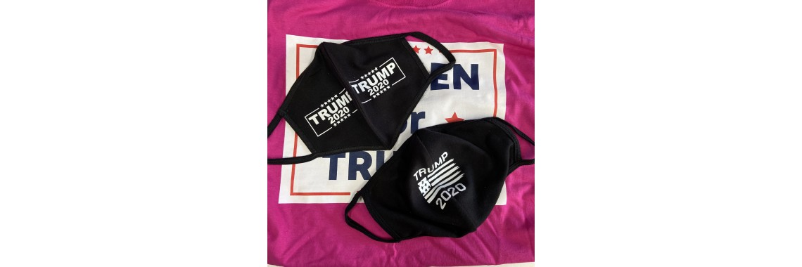 Trump 2020 Breathable and Reusable Face Mask