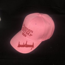 women for trump pink adjustable 6 panel hat