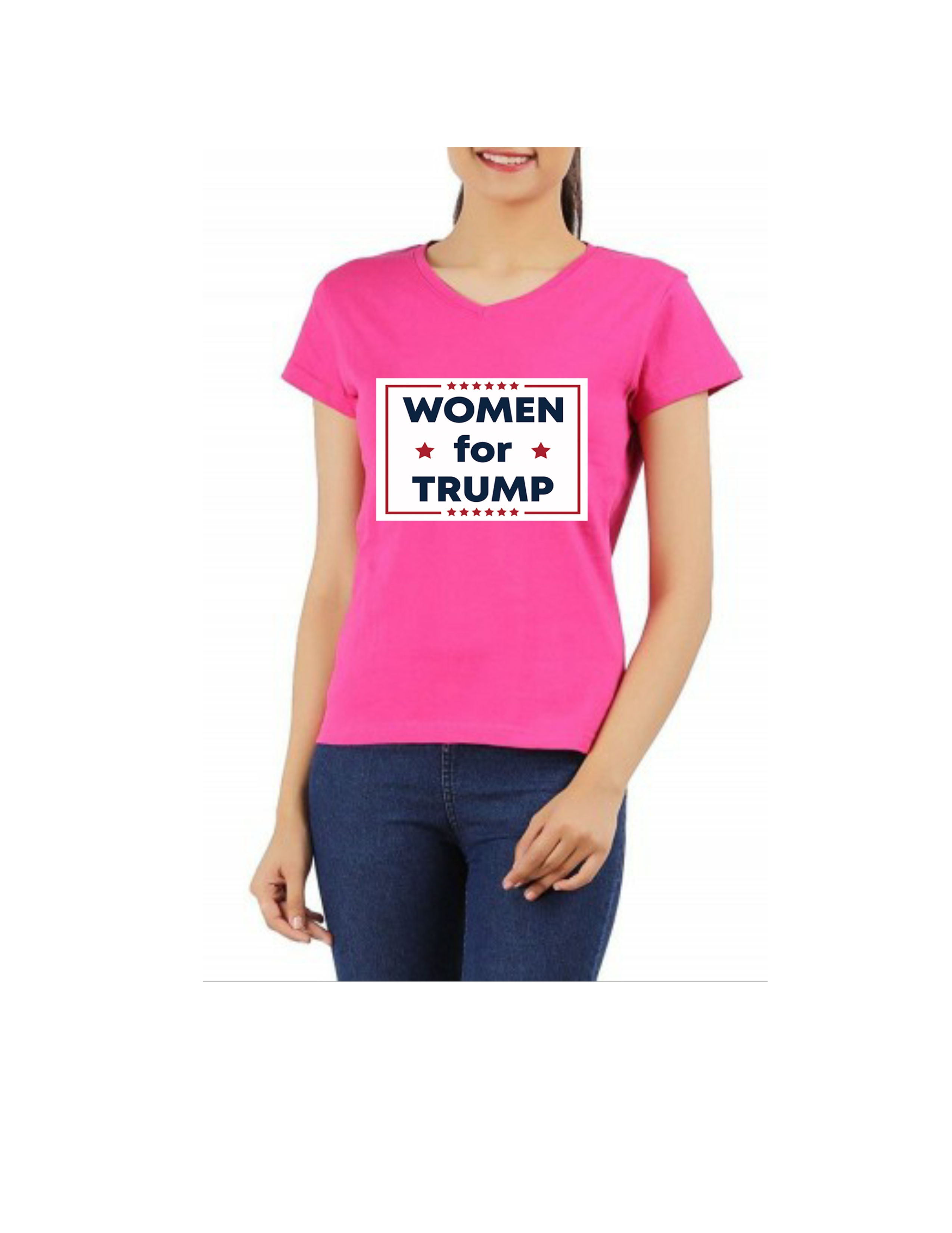 woman for trump t shirt